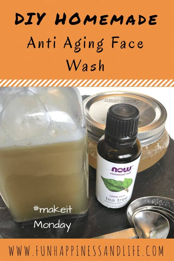 Anti-Aging Homemade Face Cleanser Recipe